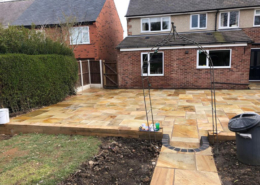 indian sandstone patio Solihull