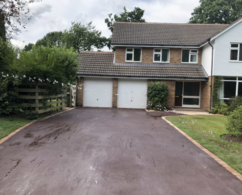 red tarmac driveways Solihull